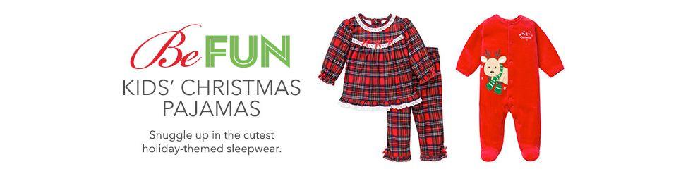9e2dd0ff Kids Christmas Pajamas: Shop Kids Christmas Pajamas - Macy's