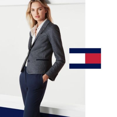 Formal Navy Blue Blazer Women Pant Suits Ladies Business Work Wear Sets Female Jacket Office Uniform Styles Fragrant Aroma Suits & Sets
