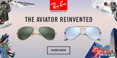 Ray-Ban, The Aviator Reinvented, Shop Now