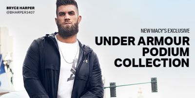 New Macy's Exclusive, Under Armour Podium Collection
