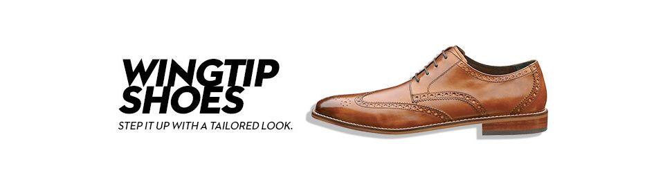 650516c7012 Wingtip Shoes & Wingtip Boots: Shop Wingtip Shoes & Wingtip Boots ...
