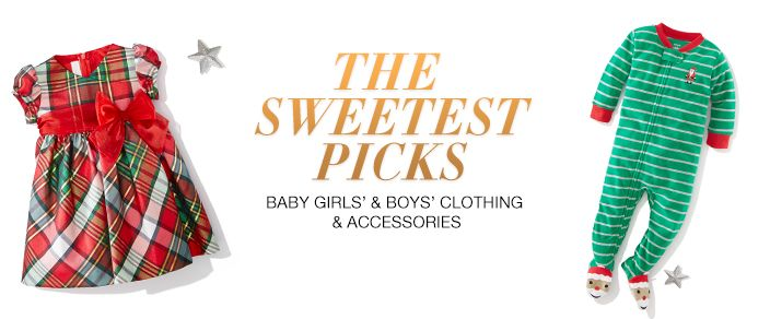 The Sweetest Picks, Baby Girls' and Boys' Clothing and Accessories