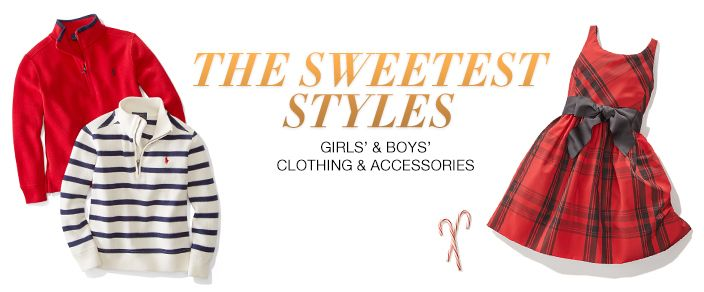 The Sweetest Styles, Girls' and Boys' Clothing and Accessories