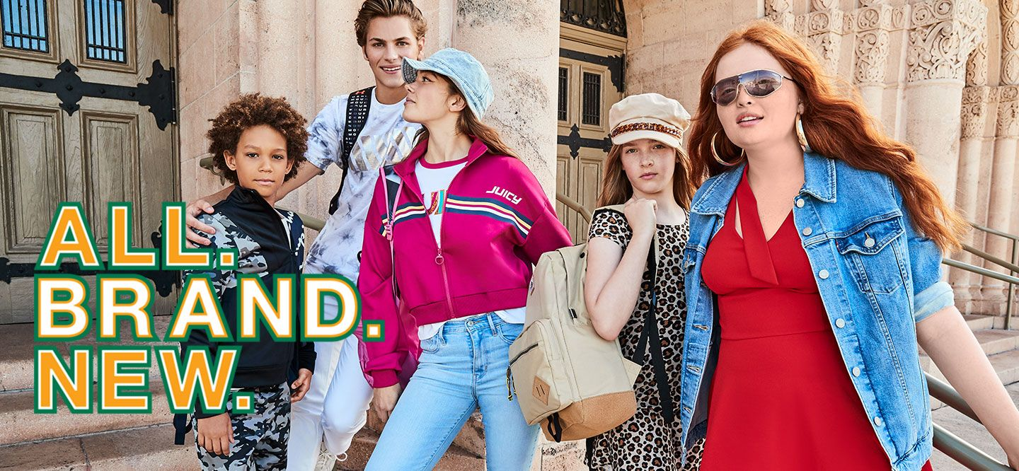 7e05bd6f289b7 Back to school & lookin' fresh in the latest styles, & coolest brands.