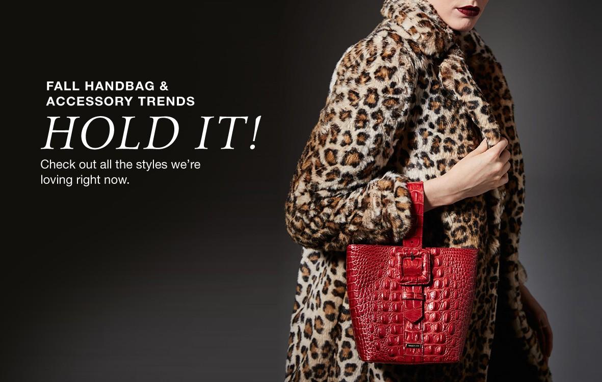 fall handbags & accessory trends