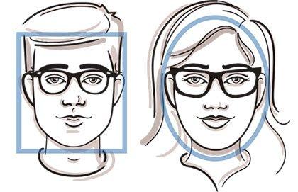 LensCrafters fit yout face shape images