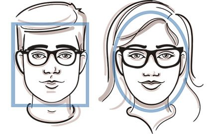 LensCrafters fit yout face shape images